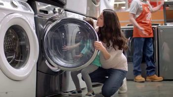 The Home Depot Labor Day Savings TV Spot, 'More: Appliance Special Buys'