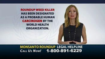 Bryant Law Center TV Spot, 'Monsanto Roundup Legal Helpline' - Thumbnail 1