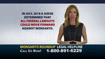 Bryant Law Center TV Spot, 'Monsanto Roundup Legal Helpline' - Thumbnail 2