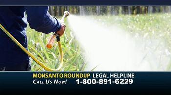 Bryant Law Center TV Spot, 'Monsanto Roundup Legal Helpline'