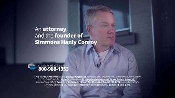 Simmons Hanly Conroy TV Spot, 'Mesothelioma Lawsuit' - Thumbnail 2