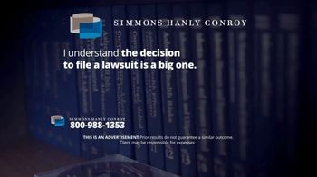 Simmons Hanly Conroy TV Spot, 'Mesothelioma Lawsuit' - Thumbnail 5