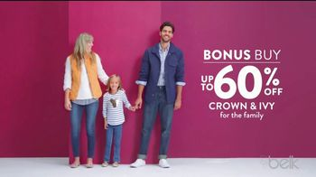 Belk Days TV Spot, 'Crown & Ivy, Pants and Boots' - Thumbnail 3