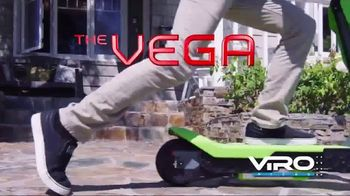 Viro Rides Vega Transforming Mini Bike and Scooter TV Spot, 'Lightning Fast'