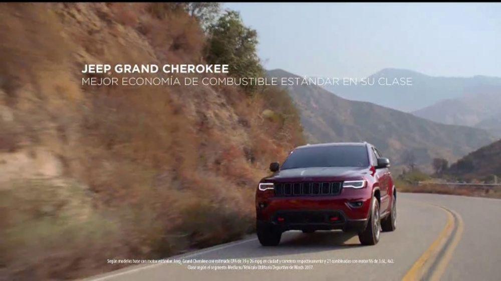 Jeep D??as de Aventura TV Commercial, 'Prueba de manejo: Grand Cherokee' [Spanish] [T2
