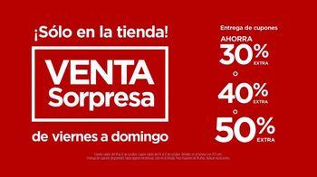 JCPenney Venta Sopresa TV Spot, 'Apúrale' canción de Redbone [Spanish] - Thumbnail 5