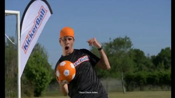KickerBall TV Spot, 'Swerve, Curve and Bend Into the Goal'