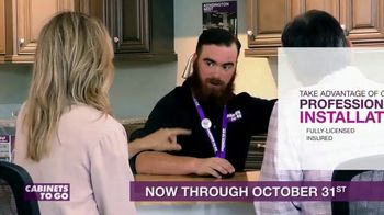 Cabinets To Go TV Spot, 'Treat Yourself to a New Kitchen' - Thumbnail 9
