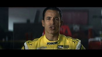 Pennzoil Synthetics TV Spot, 'Professional Race Car Drivers Trust Pennzoil' Featuring Helio Castroneves, Leah Prickett, Joey Logano - Thumbnail 9