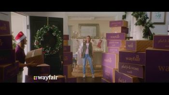 Wayfair TV Spot, 'You've Got Wayfair This Holiday' Song by Danii Roundtree - 1733 commercial airings