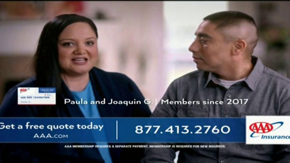 Liberty Mutual Car Insurance Quote >> AAA Auto Insurance TV Commercial, 'We're a AAA Family' - iSpot.tv