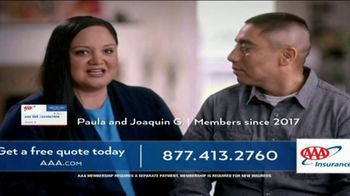 AAA Auto Insurance TV Spot, 'We're a AAA Family'