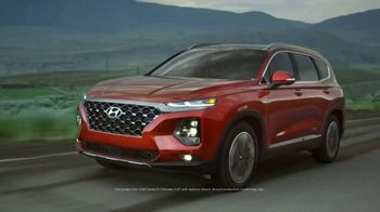 2019 Hyundai Santa Fe TV Spot, 'Camp Out in the Santa Fe' [T1] - Thumbnail 1