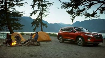 2019 Hyundai Santa Fe TV Spot, 'Camp Out in the Santa Fe' [T1] - Thumbnail 4