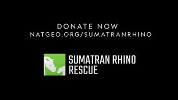 National Geographic TV Spot, 'Save the Sumatran Rhino' - Thumbnail 5