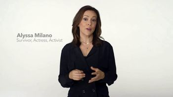 Stop Violence Against Women TV Spot, 'It Doesn't Matter' Featuring Alyssa Milano - 92 commercial airings