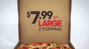 Pizza Hut $7.99 Large 2-Topping Pizza TV Spot, 'Homegating' Feat. Antonio Brown, Juju Smith-Schuster - Thumbnail 9