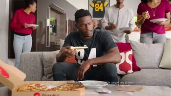 Pizza Hut $7.99 Large 2-Topping Pizza TV Spot, 'Homegating' Feat. Antonio Brown, Juju Smith-Schuster - Thumbnail 5