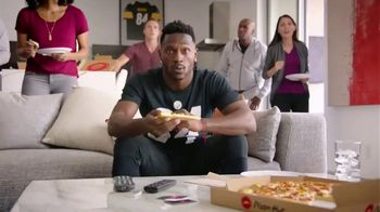 Pizza Hut $7.99 Large 2-Topping Pizza TV Spot, 'Homegating' Feat. Antonio Brown, Juju Smith-Schuster - Thumbnail 6