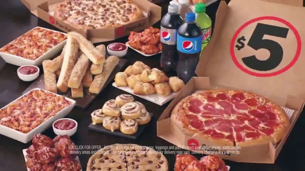Pizza Hut $5 Lineup TV Commercial, 'Speechless'