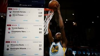 NBA App TV Spot, 'Everyone's Winning' Featuring LeBron James, James Harden, Kevin Durant, Stephen Curry, Joel Embiid, Anthony Davis, Paul George - 858 commercial airings