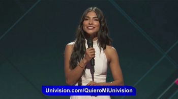 Univision Communications, Inc. TV Spot, \'Excelentes noticias\' con Alejandra Espinoza [Spanish]