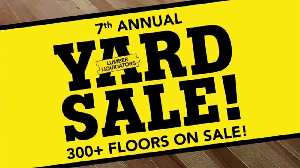 Lumber Liquidators Fall Flooring Yard Sale TV Commercial, 'Waterproof Flooring'