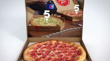 Pizza Hut $5 Lineup TV Spot, 'Best Sides' - Thumbnail 2
