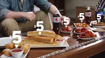 Pizza Hut $5 Lineup TV Spot, 'Best Sides' - Thumbnail 5