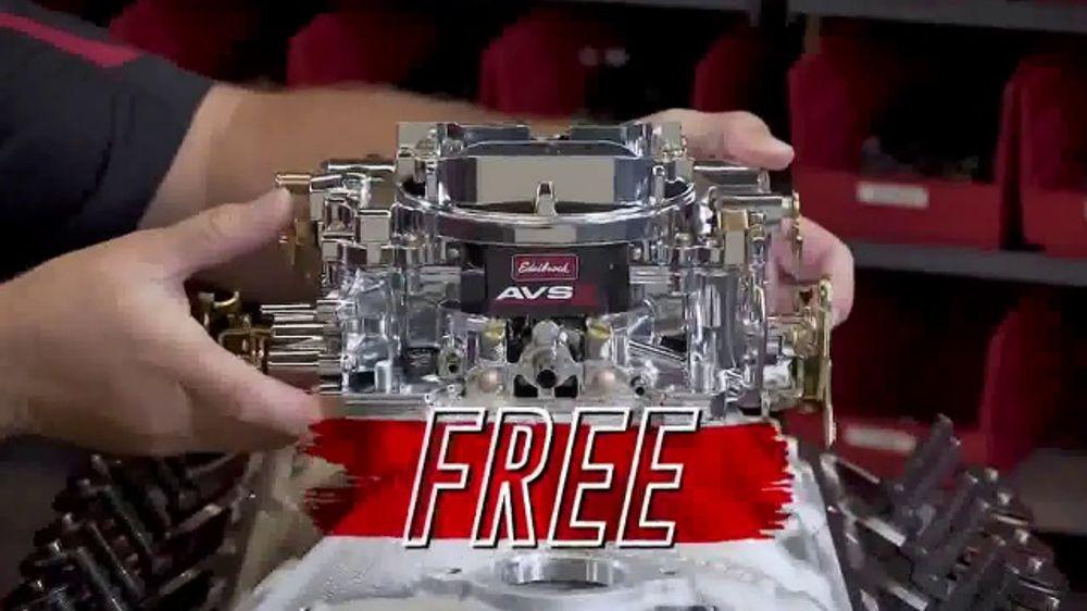 Edelbrock Power Package Promo Kit TV Commercial, 'Top It Off with Edelbrock'