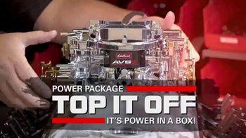 Edelbrock Power Package Promo Kit TV Spot, 'Top It Off with Edelbrock' - Thumbnail 1