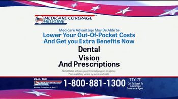 Medicare Coverage Helpline TV Spot, 'New Benefits: Dental and Vision' Featuring Joe Namath - 340 commercial airings