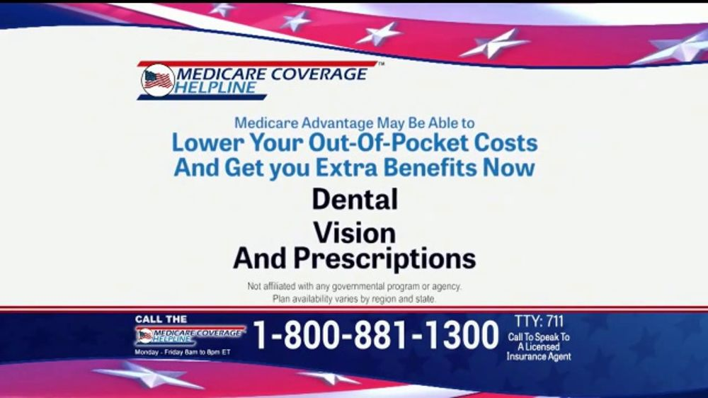 Medicare Coverage Helpline TV Commercial, 'New Benefits: Dental and Vision' Featuring Joe Namath