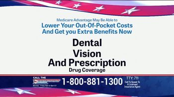 Medicare Coverage Helpline TV Spot, 'New Benefits: Dental and Vision' Featuring Joe Namath - Thumbnail 3