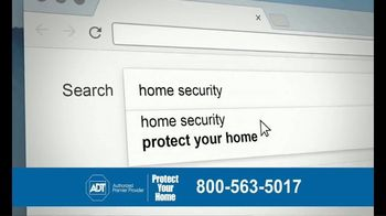 ADT Monitored Home Security TV Spot, 'Break-Ins: $100 Visa Gift Card' - Thumbnail 4
