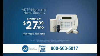 ADT Monitored Home Security TV Spot, 'Break-Ins: $100 Visa Gift Card' - Thumbnail 5