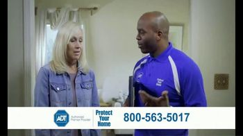 ADT Monitored Home Security TV Spot, 'Break-Ins: $100 Visa Gift Card' - Thumbnail 6