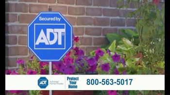 ADT Monitored Home Security TV Spot, 'Break-Ins: $100 Visa Gift Card' - Thumbnail 7
