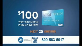 ADT Monitored Home Security TV Spot, 'Break-Ins: $100 Visa Gift Card' - Thumbnail 8