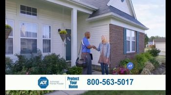 ADT Monitored Home Security TV Spot, 'Break-Ins: $100 Visa Gift Card' - Thumbnail 9