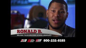 Tulsa Welding School TV Spot, 'Ronald's Success Story'
