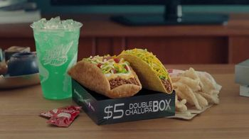 Taco Bell $5 Double Chalupa Box TV Spot, 'Xbox One X Sweepstakes' - Thumbnail 1