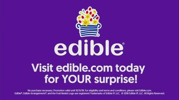 Edible Arrangements TV Spot, 'Surprise Savings' - Thumbnail 9