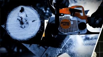 STIHL TV Spot 'Real People: Jen and Justin: BGA Blower and Chainsaw' - Thumbnail 3
