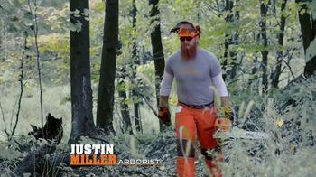 STIHL TV Spot 'Real People: Jen and Justin: BGA Blower and Chainsaw' - Thumbnail 5