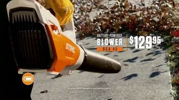 STIHL TV Spot 'Real People: Jen and Justin: BGA Blower and Chainsaw' - Thumbnail 7