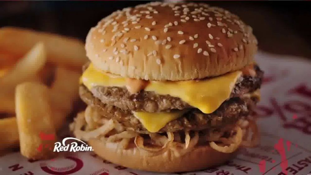 Red Robin Haystack Tavern Double TV Commercial, 'Irresistible'