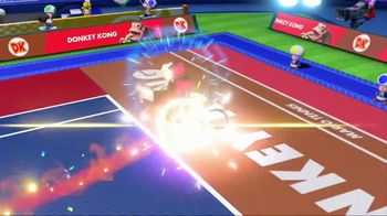 Mario Tennis Aces TV Spot, 'Nonstop Tennis Action' - Thumbnail 6