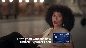 United Explorer Card TV Spot, 'Easy' Featuring Tracee Ellis Ross