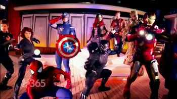 Disney Cruise Line TV Spot, 'Marvel Day at Sea' Feat. Navia Robinson